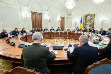 Präsident Selenskyj beruft Sitzung des nationalen Sicherheitsrates ein