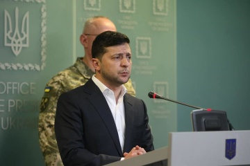 Zelensky: Our army strongly responds to provocation in Donbas