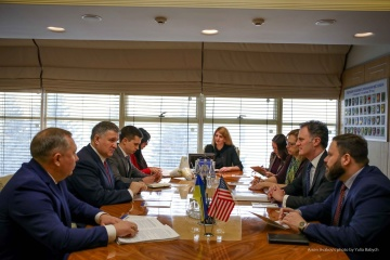 Arsen Awakow trifft sich mit hochgestellten US-Beamten