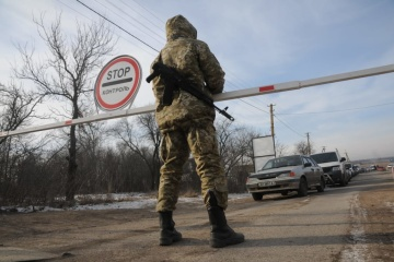 EU urges Russia to open entry-exit checkpoints in Donbas