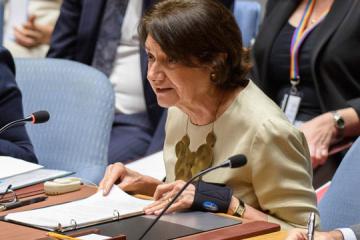 Rosemary DiCarlo: En 2019, 27 civils ont péri dans le Donbass