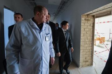 220 Krankenhäuser werden saniert - Präsident Selenskyj