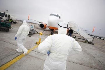 Gesundheitsministerium: Es gibt keine Erkrankte unter Ukrainern im Flugzeug aus Wuhan