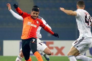 Europa League: Schachtar gewinnt gegen Benfica 2:1