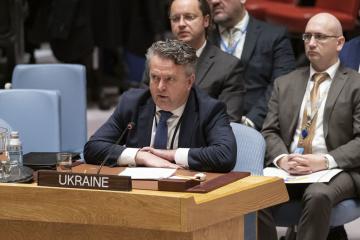 ドンバス地方への国連平和維持軍の近い将来の派遣は非現実的=ウクライナ国連代表