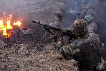 Ocupantes abren fuego en las cercanías de Avdiivka y Krasnogorivka