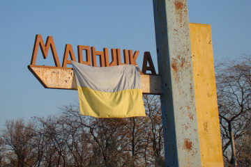 Russian-backed forces shell residential areas on outskirts of Marinka