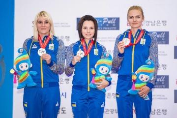 Equipo femenino de Ucrania se proclama campeón de Europa en tiro de 10 m
