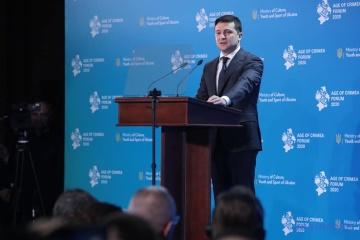 Presidente: Recuperación de Crimea es una parte de nuestra idea nacional