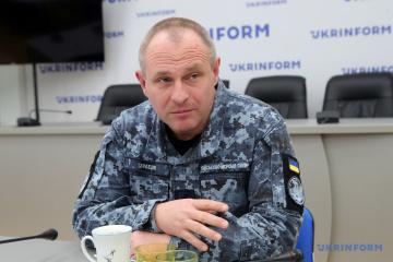 Andriy Tarásov, vicealmirante y primer comandante adjunto de la Armada de Ucrania