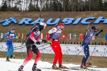Ukrainische Mixed-Staffel gewinnt Gold bei Biathlon-EM
