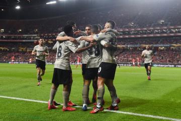 Sieg über Benfica bringt Shakhtar Donetsk ins Achtelfinale der UEFA Europa League