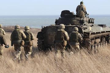 3月15日の露占領軍攻撃12回、宇軍人4名負傷=統一部隊