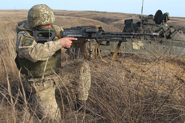 Russian-led forces violate ceasefire in Donbas 13 times