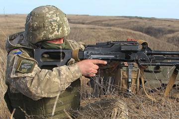 Okupanci 9 razy prowokowali ukraińskie wojsko w Donbasie – strzelano z granatników