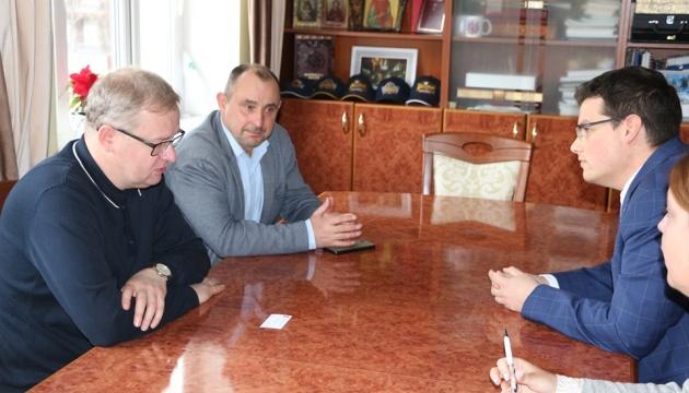 Консул Угорщини в Україні обговорив з мером Трускавця реалізацію спільних проєктів