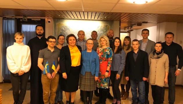 У Посольстві в Швеції відбулася зустріч з представниками українських громадських осередків Швеції
