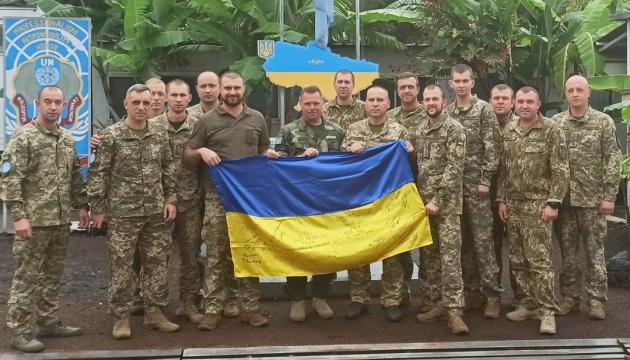 У ДР Конго провели заняття для українських миротворців