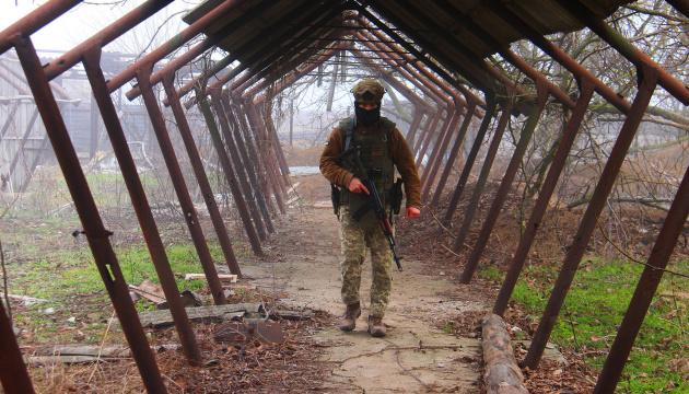 Okupanci 11 razy ostrzelali stanowiska Sił Zbrojnych Ukrainy – jeden żołnierz jest ranny