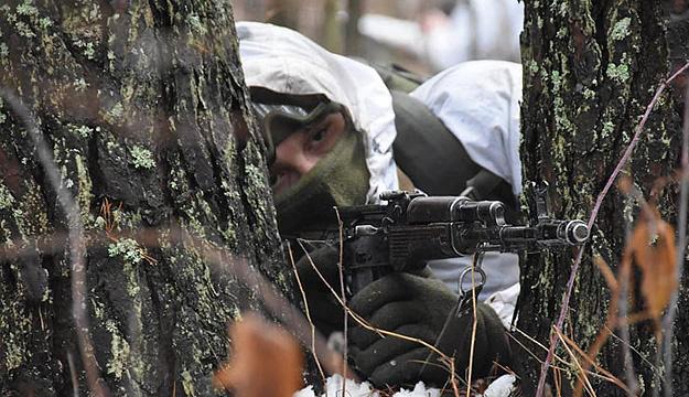 Donbass: Acht Angriffe der Besatzer, Sniper verletzt ukrainischen Soldaten