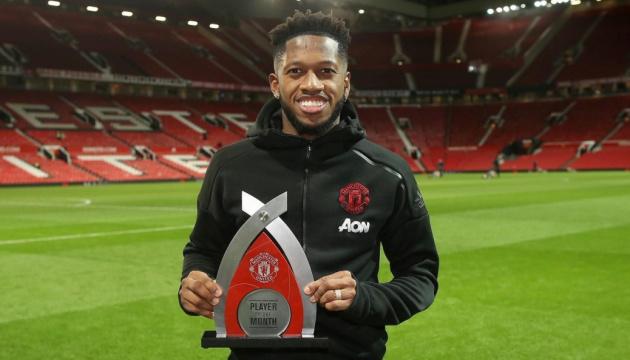 """Фред, выступавший когда-то за """"Шахтер"""", стал игроком месяца в """"Манчестер Юнайтед"""""""