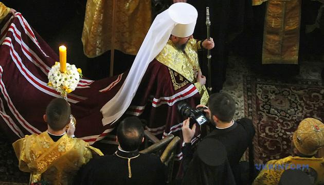 Епіфаній подякував Варфоломію за мужні рішення та попросив молитися за Україну