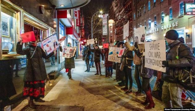 У Нью-Йорку - пікети проти концертів російського саксофоніста, який підтримав анексію Криму