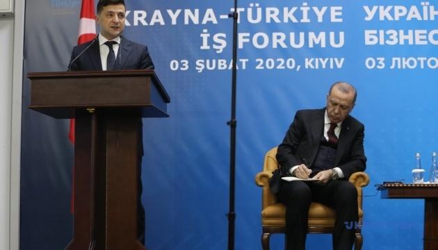 ウクライナ・トルコ・ビジネスフォーラム開催 ゼレンシキー大統領、投資を呼びかけ