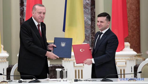 【ウクライナ・トルコ戦略評議会】大統領府が総括 軍事支援、運転免許証相互承認、自由貿易圏