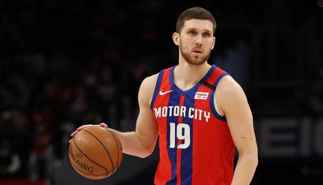 Український баскетболіст Михайлюк пропустив матч НБА через травму