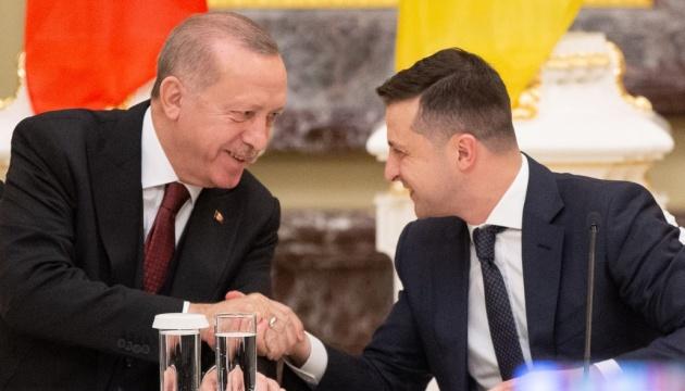 Erdogan thanks Zelensky for support in fighting wildfires