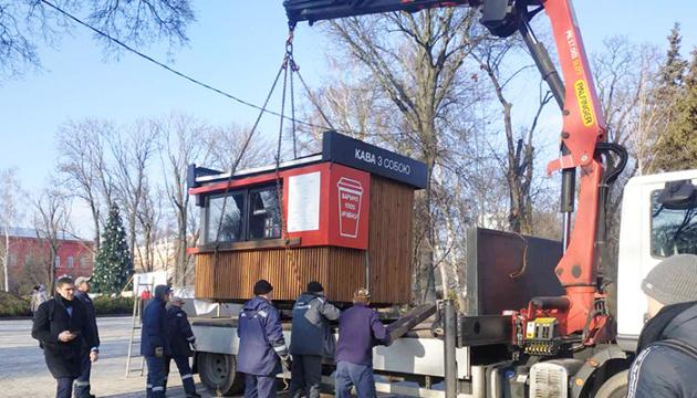 У Києві за січень знесли 440 незаконних МАФів