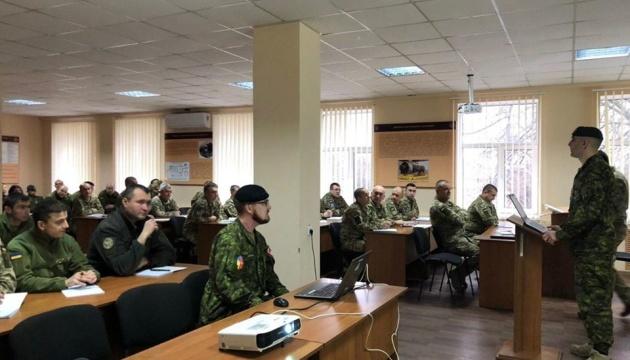 Украинских морпехов готовят по программе курса НАТО