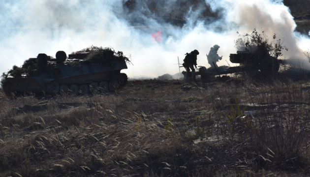 Окупанти випустили 25 мін по позиціях ЗСУ під Оріховим