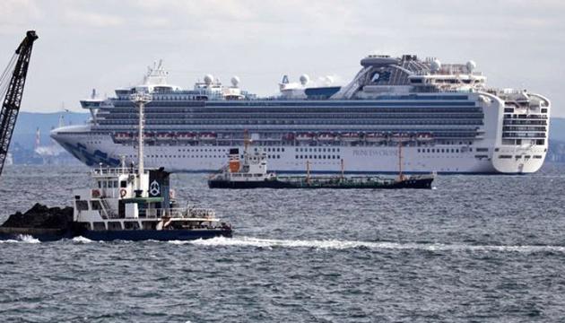 Із лайнера Diamond Princess завтра евакуюють літніх людей