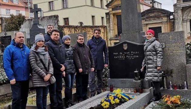 У Празі вшанували видатного українського фізика Івана Пулюя