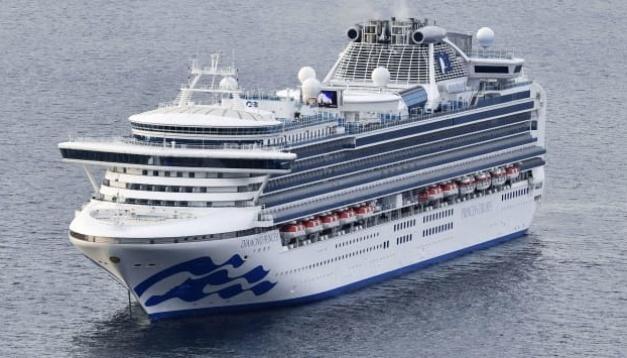 В Японии выяснили как произошло заражение коронавирусом на круизном лайнере