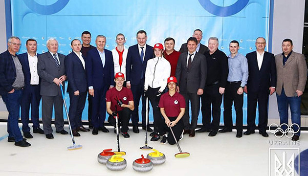 First curling rink opens in Ukraine