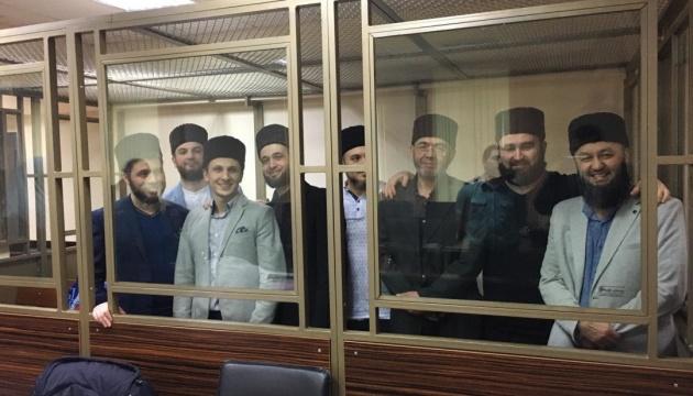 Суд РФ продовжив арешт вісьмом фігурантам