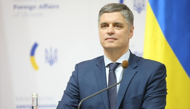 Prystaiko says Zelensky did not talk about his resignation