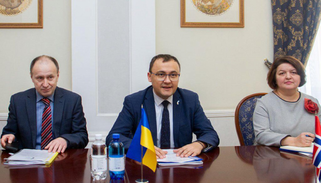 Ukrainian-Norwegian partnership continues to develop – deputy foreign minister
