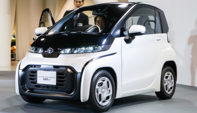 Toyota розробляє компактний елекрокар