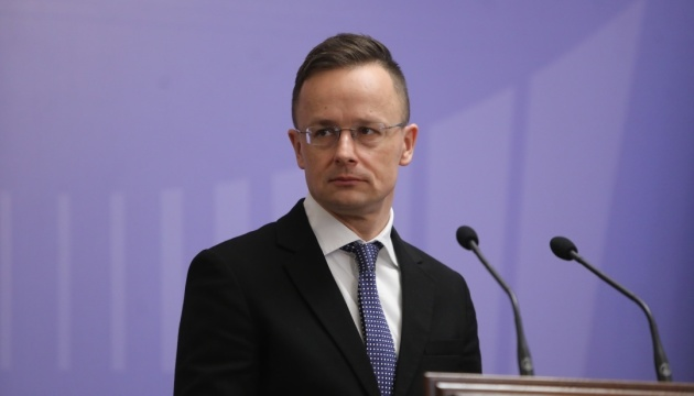Сіярто каже, що зробив дві пропозиції Україні щодо освітнього закону
