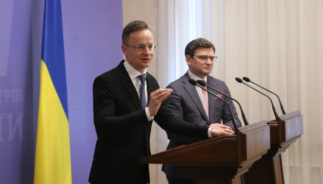 Hungary interested in restoring good neighborly relations with Ukraine - Szijjarto