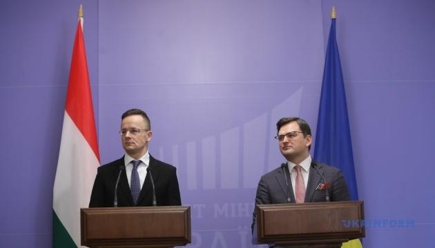 У Києві збереться міжурядова українсько-угорська комісія під головуванням Кулеби і Сіярто