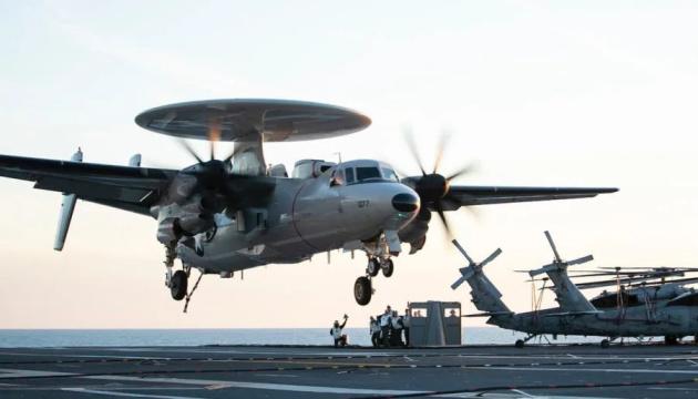 Новейший авианосец ВМС США может нести до 90 самолетов, включая истребители F-35C