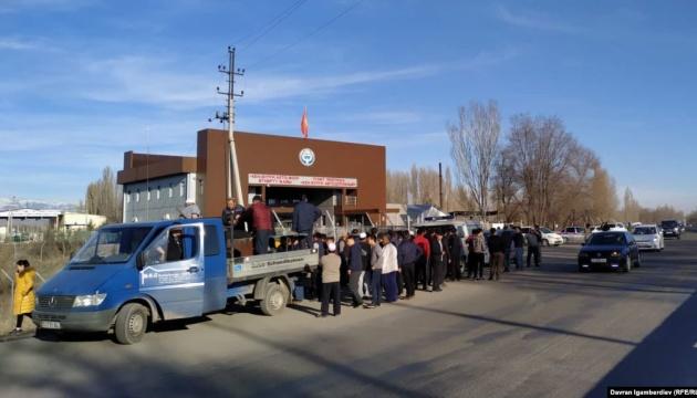 Близько 4500 осіб перейшли кордон з Казахстану в Киргизстан