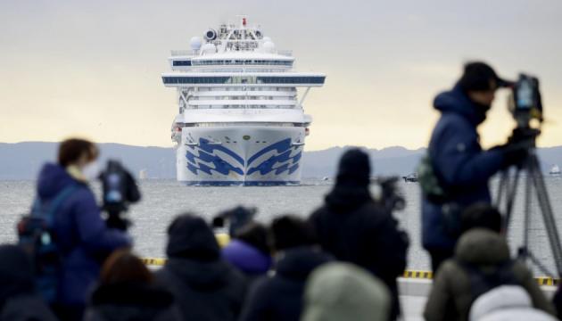 С лайнера Diamond Princess эвакуируют только здоровых граждан ЕС