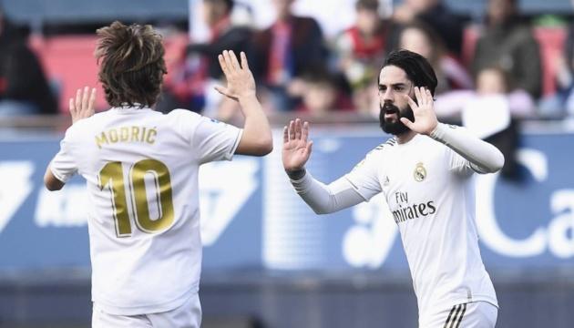 «Реал» обіграв «Осасуну» і відірвався від «Барси» на 6 очок