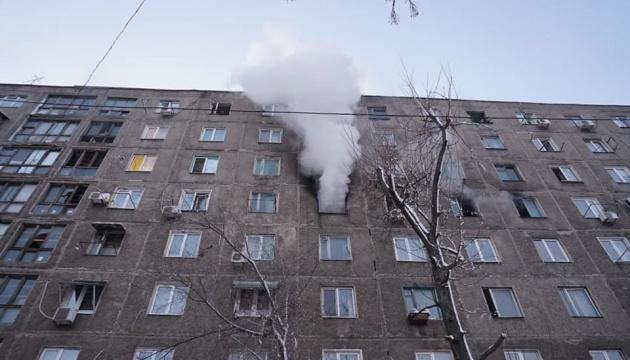 У Дніпрі під час пожежі у гуртожитку постраждали п'ять людей